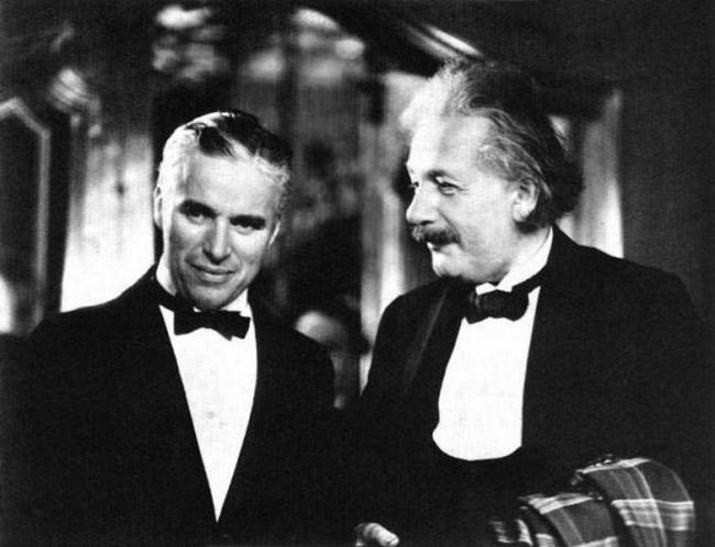 Charlie Chaplin, Albert Einstein