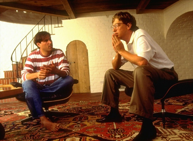Steve Jobs, Bill Gates