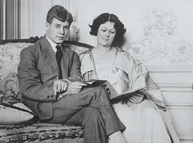 Sergei Yesenin, Isadora Duncan
