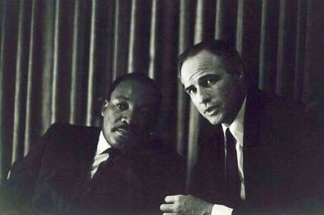 Martin Luther King, Marlon Brando