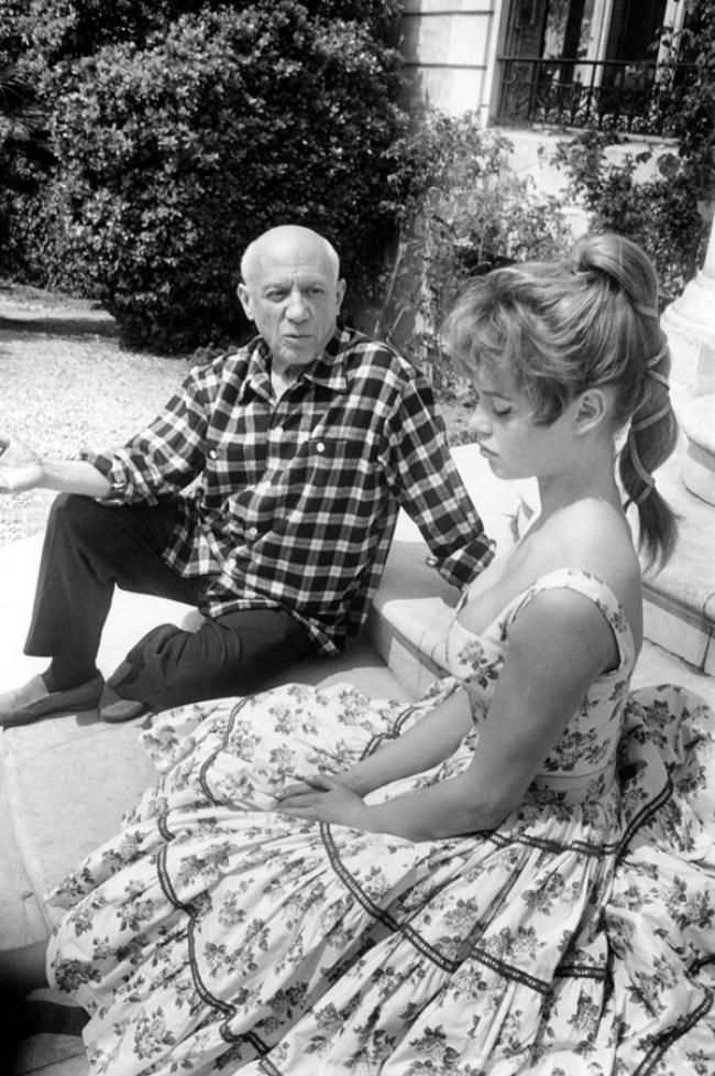 Pablo Picasso, Brigitte Bardot
