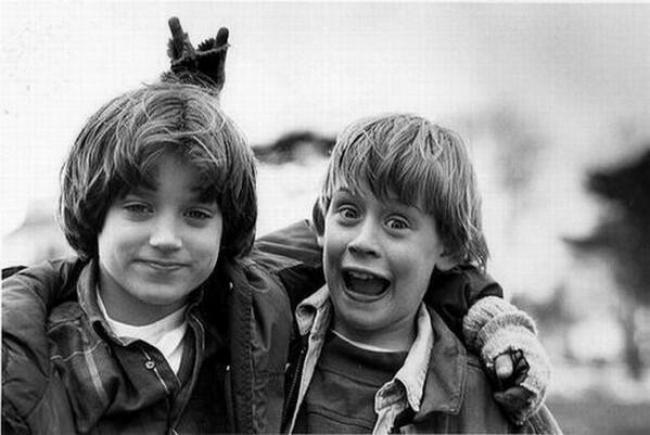 Elijah Wood, Macaulay Culkin